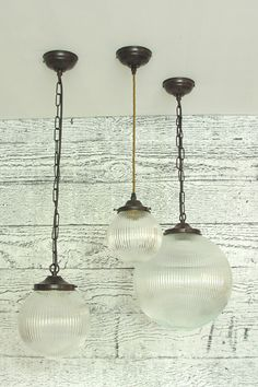 Prismatic Light, Globe glass shade - Tinsmiths   Linen and Cotton Fabrics, Lighting, Curtains and Accessories