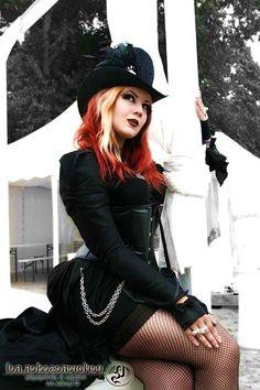 50 Steamy and Intriguing Steampunk Girls #steampunk #women #fashion #costume #clothing #badass