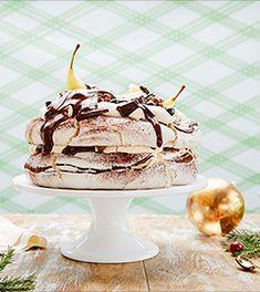Kakeoppskrifter | Freia Hjemmekonditori Pavlova, Panna Cotta, Pudding, Ethnic Recipes, Desserts, Cakes, Food, Recipes, Tailgate Desserts