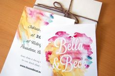 On the Creative Market Blog - Design Your Perfect Wedding Invitations: Watercolor