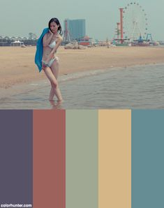 shy at the beach color scheme