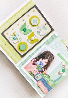 I absolutely ADORE this accordian mini by Stephanie Dagan. She makes layering look so fun!!