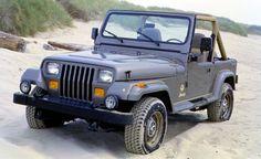 1988 Jeep Wrangler-Sahara YJ   Car and Driver
