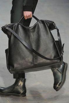Ann Demeulemeester Menswear-Bag