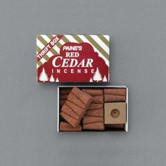 Red Cedar Incense Sticks