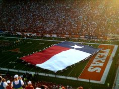 University of Texas at Austin - nothing better than the foot field.