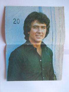 Patrick Duffy Leif Garrett Mini Poster Greek Magazines clippings 80s 90s | eBay