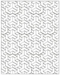 Image Result For Optical Illusion Coloring Pages Geometric Art Pattern Art Geometric Tattoo Design