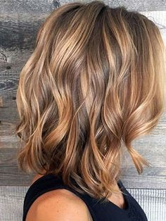 Balayage Hair Color Ideas Summer 2017 in Brown to Caramel Tones #Highlightsbrownhair