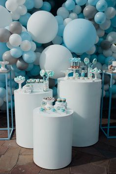 Kara's Party Ideas Little Bear Baby Shower Deco Baby Shower, Shower Bebe, Baby Boy Shower, Baby Showers, Splash Party, Cake Pops, Decade Party, Free Baby Shower Printables, Balloon Installation