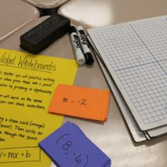 middle School Math Stattions