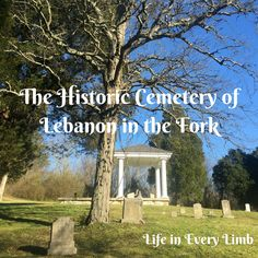 Wow, y'all. If you are interested in history you really need to visit Lebanon in the Forks Presbyterian Cemetery. Honestly, my visit left me a little awestruck. But let me back up. Emily and I w...