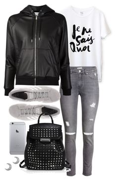 """Untitled #19481"" by florencia95 ❤ liked on Polyvore featuring H&M, Yves Saint Laurent, adidas Originals, Alexander Wang, women's clothing, women, female, woman, misses and juniors"