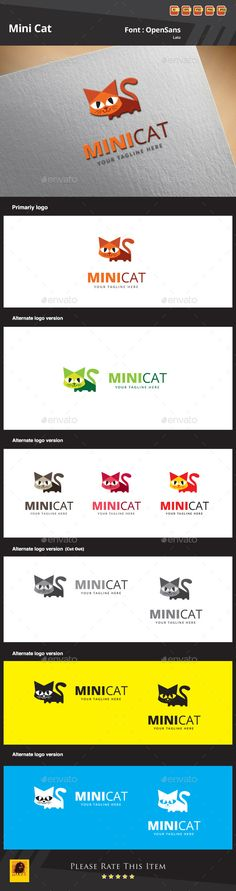 New approved logo... Mini Cat logo... pls visit and comment...