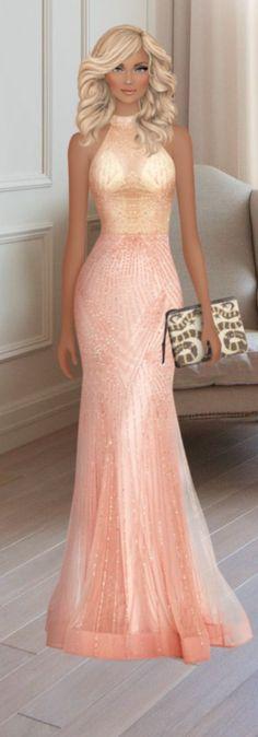 Covet Fashion, Mermaid, Formal Dresses, Sketching, Dresses For Formal, Formal Gowns, Formal Dress, Gowns, Formal Wear
