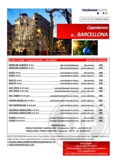 Festeggia il nuovo anno con un #offerta da non perdere! Capodanno #Barcellona volo 4 notti da #Roma, per vivere l'ultimo giorno in un clima unico! - Per info o altro: www.ftravelpromoter.com; - Per vedere #pacchetti, #hotel, #voli o altro potete consultare la sezione: http://voliehotel.travelpromotionviaggi.it/Home.html?tab=VOLO_HOTEL ... ... e dopo avere trovato la giusta combinazione contattateci ed al resto penseremo noi. #AgenteViaggi Ftravelpromoter