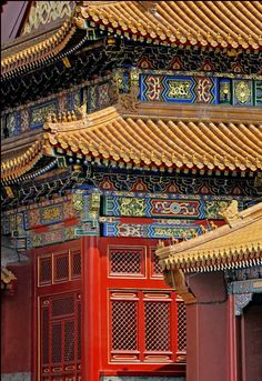 The Forbidden City (constructed in the early 1400's)  is one of the most popular tourist attractions in the world attracting over 7 million visitors a year. #forbiddencity #palacemuseum #beijing #china #travel