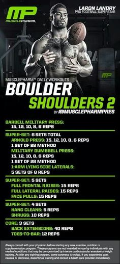 MusclePharm Boulder Shoulders 2