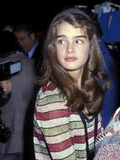 Actress Brooke Shields attends the 'VIP Night on Broadway' Benefit Performance for the NYC Police Department After Party on April 22 1979 at the. Brooke Shields Jovem, Brooke Shields Young, Beautiful Models, Beautiful Actresses, Beautiful Women, Classic Actresses, Vaquera Sexy, Nastassja Kinski, Broadway