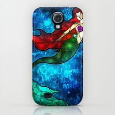 wrong kind of iPhone but I bet @Michelle Inman  would still love it!!   The Mermaids Song by Mandie Manzano Samsung Galaxy S4 Case $35.00
