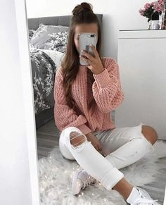 teenager outfits for school ; teenager outfits for school cute ; Cute Comfy Outfits, Cute Winter Outfits, Winter Fashion Outfits, Girly Outfits, Outfit Winter, Winter Outfits For School, Travel Outfits, Christmas Outfits, Casual Winter