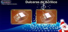 Continuamos con nuestro DICIEMBRE de PROMOCIONES Y DESCUENTOS ¡Venta de Dulceras de Acrílico! Contáctenos: Visite nuestra web: http://maplasa.com/productos/dulcera/dulceras-de-acrilico.php O llámenos al número: +52(614) 410-5822