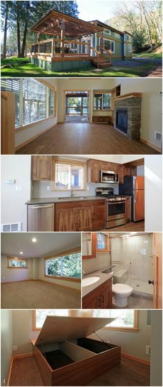 Take a Look at the 400sf Whidbey by West Coast Hom…