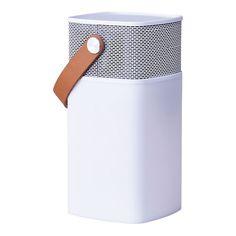 Kreafunk aGlow Speaker/Lampe. aGlow er både en speaker, powerbank og lampe. Speakeren har indbygget bluetooth, så den kan afspille musikken...