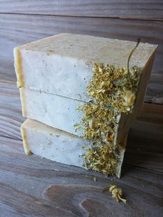 Chamomile Honey Oat Soap Handcrafted All Natural Cold Process