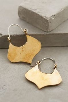 Winifred Grace Ivy Leaf Earrings #anthrofave #anthropologie