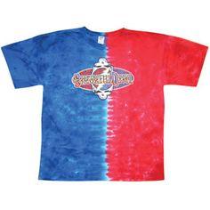 Grateful Dead Flip Letters Tie Dye T-shirt