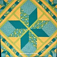 I rarely make the same quilt design twice. Tweaking the number of fabric colors, adding sashing, turning the block on point, and/or using portions of the quilt design – rather than the entire desig...
