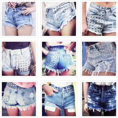 cutoff denim shorts photo roundup
