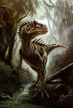 Allosaurus by Bakirasan.deviantart.com on @deviantART