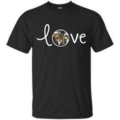 6a00c280005 Wake Forest Demon Deacons Love XL Black T-shirt Hoodie Sweater