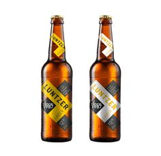 Luntzer Beer on Packaging of the World - Creative Package Design Gallery