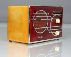 Vintage - Art Deco - Sparton Cloisonne Tube Radio  https://www.pinterest.com/0bvuc9ca1gm03at/