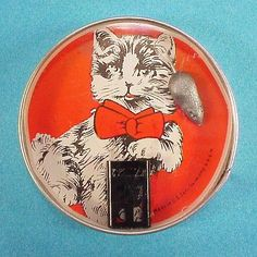 icollect247.com Online Vintage Antiques and Collectables - Cat and Mouse Dexterity Game U S Zone Germany 1949