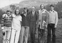 John Carradine with his sons Bruce, David, Christopher, Keith, and Robert