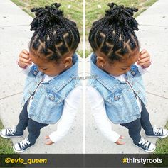 From pony puffs to decked out cornrow designs to braided styles, natural hairstyles for little girls can be the cutest added bonus to their precious little faces. # single Braids for kids 20 Cute Natural Hairstyles for Little Girls Box Braids Hairstyles, Black Kids Hairstyles, Baby Girl Hairstyles, Natural Hairstyles For Kids, Kids Braided Hairstyles, My Hairstyle, Teenage Hairstyles, Hairstyle Ideas, Toddler Hairstyles