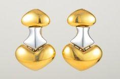 Marina B Gold And Steel Earrings