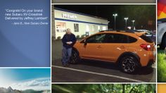 Dear Jane Bridges   A heartfelt thank you for the purchase of your new Subaru from all of us at Premier Subaru.   We're proud to have you as part of the Subaru Family.
