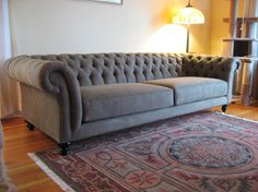 Tufted Chesterfield Sofa