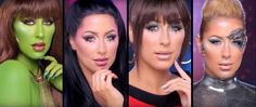 How-To Videos for M-A-C Trek Makeup   M-A-C Cosmetics' Star Trek-inspired collection of makeup is available now online and due to beam into M-A-C stores in just a few days and to support the line they've just released a series of How-To videos and even an amusing blooper reel. As previously reported M-A-C's Trek line is inspired by Deanna Troi Uhura Seven of Nine and the Orion Girl Vina.  Fans who attended San Diego Comic Con and Star Trek Las Vegas got a sneak peek at some of the products…