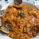 Arroz con gambas y almejas con thermomix Pasta Thermomix, Rice Recipes, Cooking Recipes, Food N, Rice Dishes, Chana Masala, Risotto, Food To Make, Curry