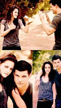 #Twilight - #Kristen Stewart and #Taylor Lautner