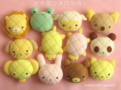 Melon Bread (Yummy Cookie Crusted Bread - Shaped in the form of Melons) メロン・パン#パン #可愛 #bread #kawaii