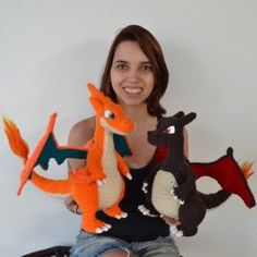 Dragon crochet pattern - Free