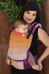 TULA Baby Carriers   Toddler Carriers — (Standard Size) Full Wrap Conversion Tula Baby Carrier - Girasol Arden