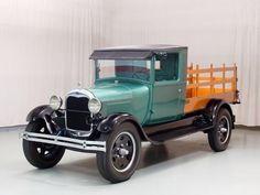 1929 Ford Model A of my favorites. Cool Trucks, Big Trucks, Cool Cars, Old Ford Trucks, Old Pickup Trucks, Antique Trucks, Vintage Trucks, Ford Classic Cars, Classic Trucks